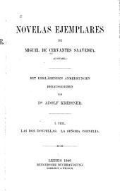 Novelas ejemplares: Las dos doncellas. La señora Cornelia. 1886