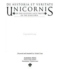 De Historia Et Veritate Unicornis PDF