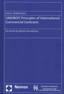 Unidroit Principles of International Commercial Contracts PDF