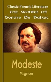 Modeste Mignon: Works of Balzac