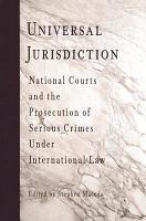 Universal Jurisdiction PDF