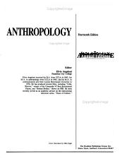 Anthropology 91 92 PDF