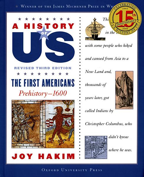 A History of US: The First Americans Pdf Book