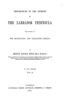 Explorations in the Interior of the Labrador Peninsula PDF