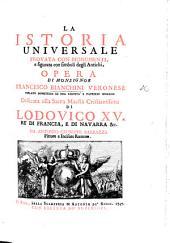 La Istoria universale, provata con monumenti, e figurata con simboli de gli antichi, etc. With plates