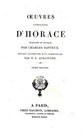 Oeuvres complet D' Horace