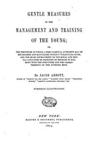 Gentle Measures in the Management and Training of the Young PDF