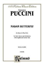 Madame Butterfly: Vocal (Opera) Score