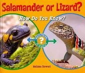 Salamander Or Lizard?: How Do You Know?