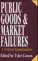 Public Goods and Market Failures PDF