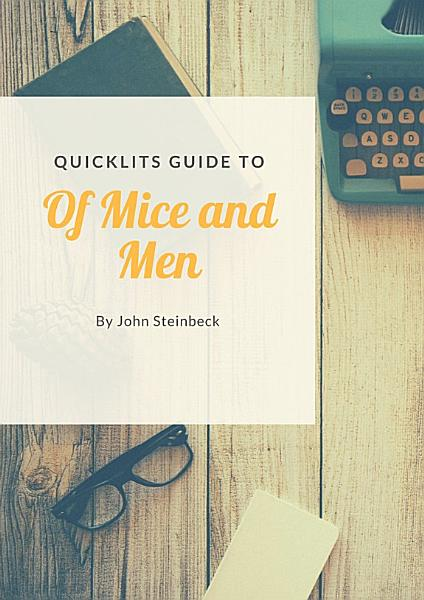 Download QuickLits Guide of Mice and Men Book