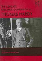 The Ashgate Research Companion to Thomas Hardy PDF