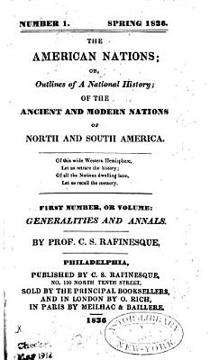 The American Nations  Or PDF