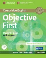 Objective First Student s Book with Answers with CD ROM PDF