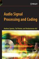 Audio Signal Processing and Coding PDF