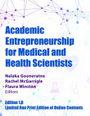 Academic Entrepreneurship for Medical and Health Scientists PDF