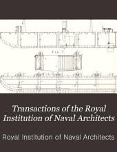 Transactions of the Royal Institution of Naval Architects: Volume 37