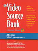 The Video Source Book  Video program listings A O PDF