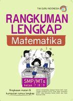 Rangkuman Lengkap Matematika  SMP   MTs kelas 7 8 9 PDF