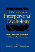 Handbook of Interpersonal Psychology PDF