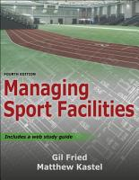 Managing Sport Facilities PDF