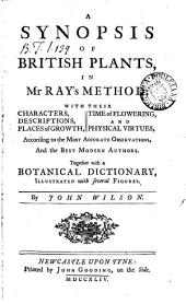 A synopsis of British plants, in mr Ray's method