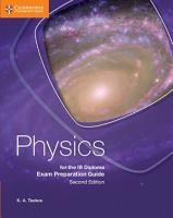 Physics for the IB Diploma Exam Preparation Guide PDF