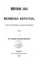 Hervarar saga ok Heiðreks konungs: Bindi 3