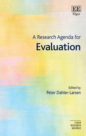 A Research Agenda for Evaluation PDF