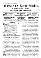Giornale dei lavori pubblici e delle strade ferrate PDF