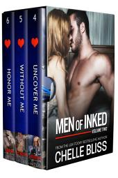Men of Inked Books 4-6: Romantic Family Saga Boxset