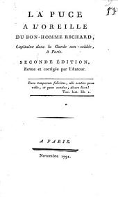 La puce à l'oreille du bon-homme Richard, capitaine dans la garde non-soldée, à Paris