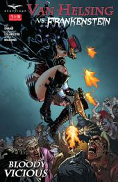 Van Helsing vs. Frankenstein: Issue #1 Bloody Vicious