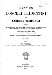 Examen concilii Tridentini
