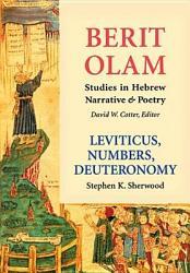 Leviticus Numbers Deuteronomy Book PDF