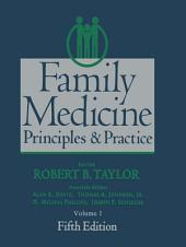 Family Medicine: Principles and Practice, Edition 5