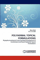 Polyherbal Topical Formulations