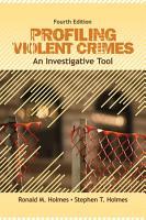 Profiling Violent Crimes PDF