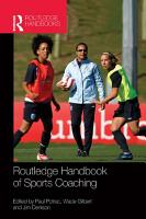Routledge Handbook of Sports Coaching PDF