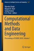 Computational Methods and Data Engineering PDF