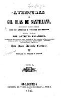 Aventuras de Gil Blas de Santillana    con Notas Que Demuestran El Origen Espanol de la Obra     PDF