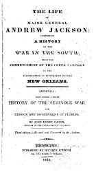 The Life Of Major General Andrew Jackson Book PDF