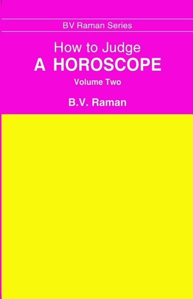 Download How to Judge a Horoscope Volume 2 Book