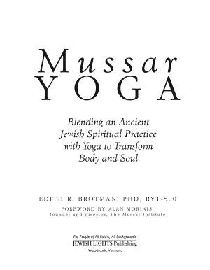 Mussar Yoga PDF