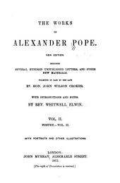The Works of Alexander Pope: Volume 2