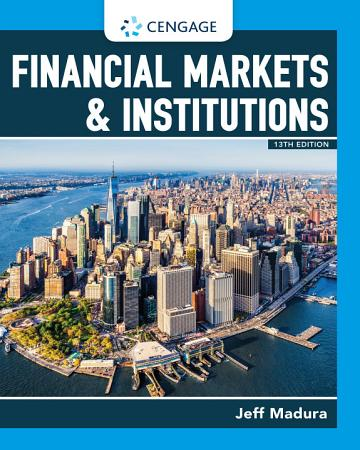 Financial Markets   Institutions PDF