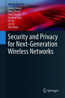 Security and Privacy for Next-Generation Wireless Networks