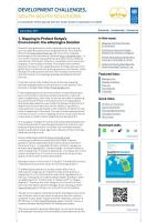Development Challenges  South South Solutions  December 2011 Issue PDF