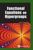 Functional Equations on Hypergroups PDF