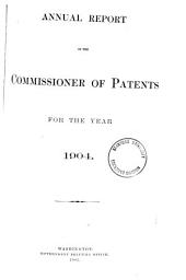 Annual Report of the Commissioner of Patents